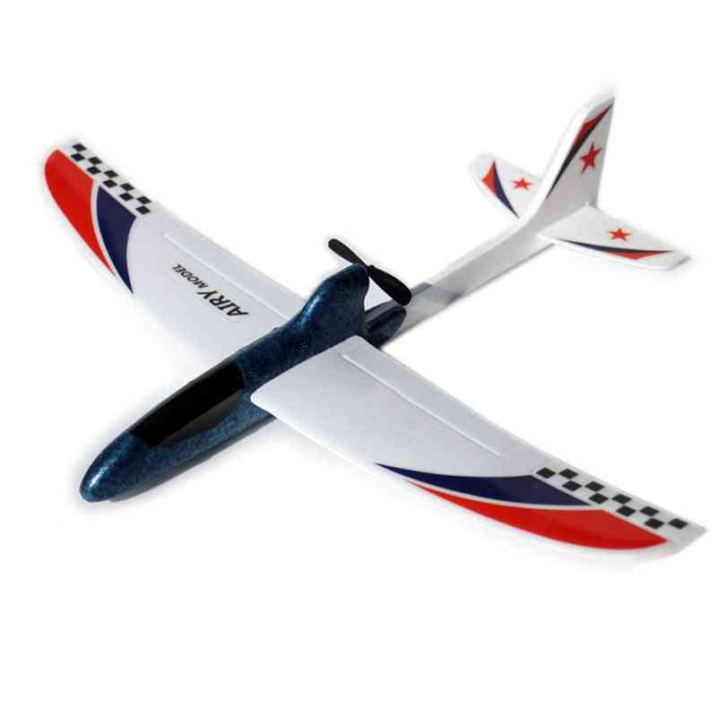 Rc Airplanes Capacitor Electric Hand Throwing Glider Diy Airplane Model - Hand Launch Throwing Glider Educational Toy For Children