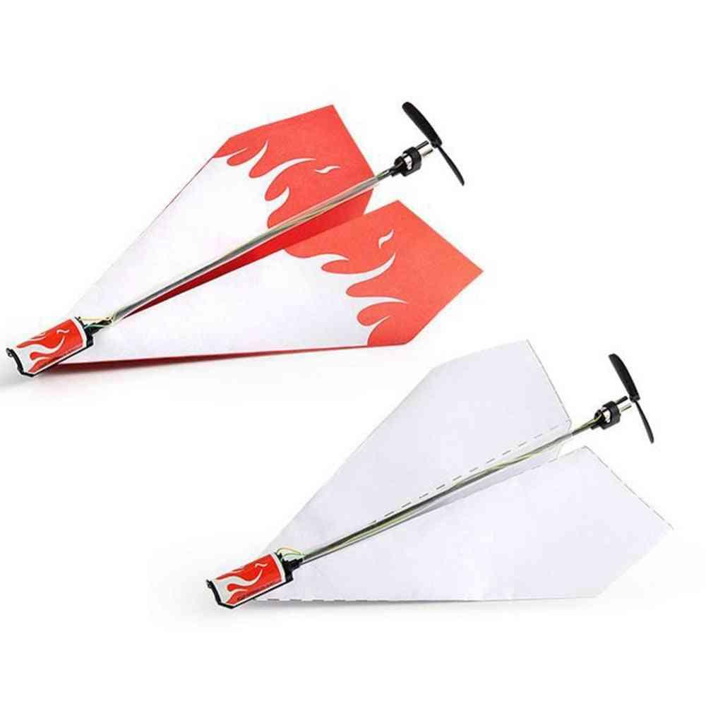 Folding Paper Model Diy Motor Power - Rc Plane