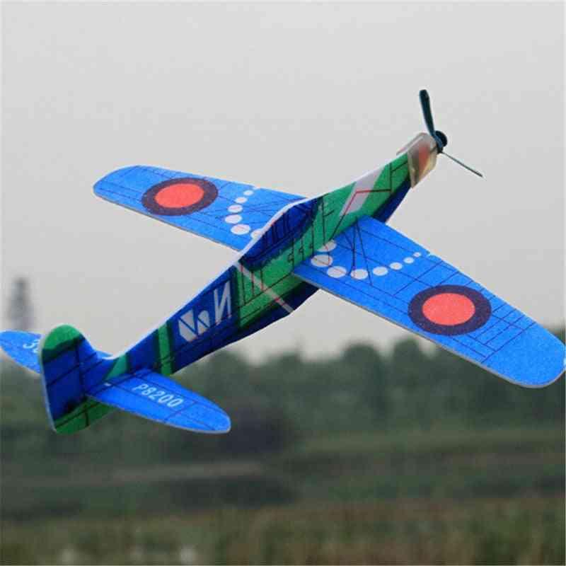 19cm Hand Launch Throwing Glider Inertial Foam Airplane