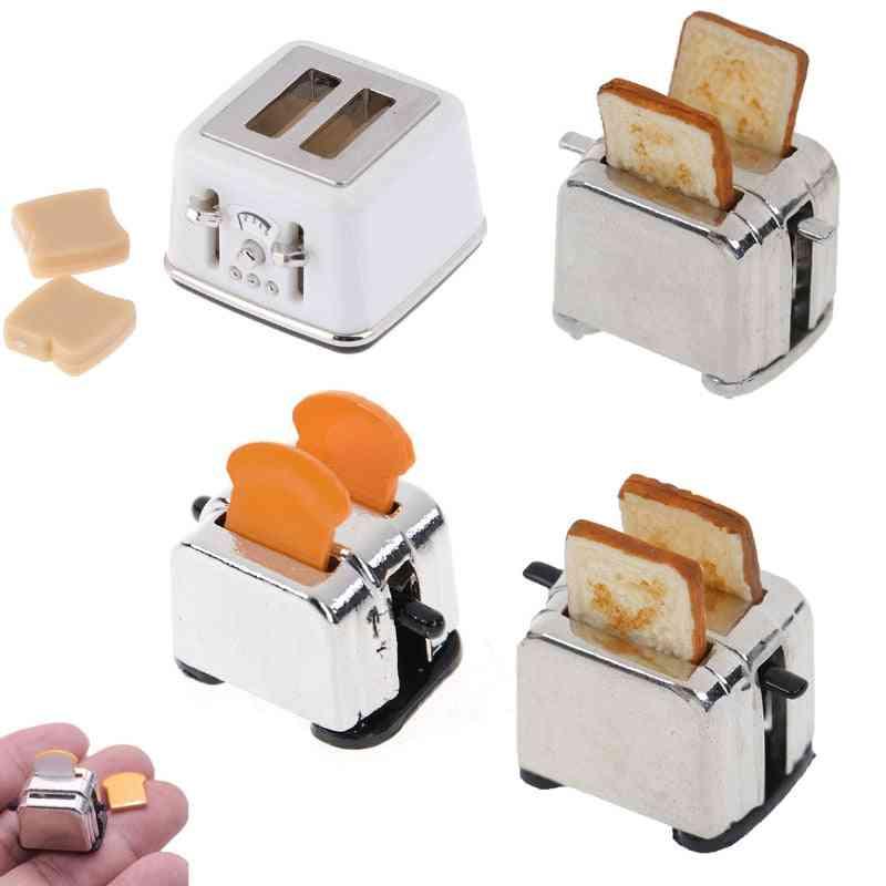 Bread Machine With Toast Miniature - Dollhouse Mini Accessories