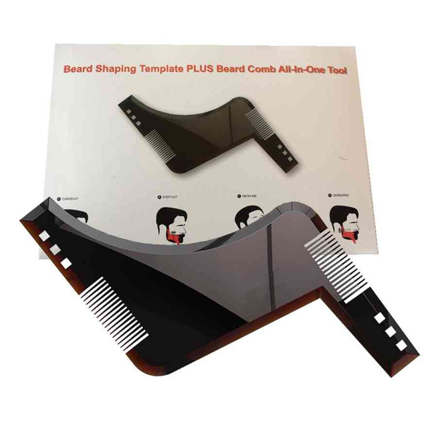 Beard Shaping, Styling And Shaving Comb Tool