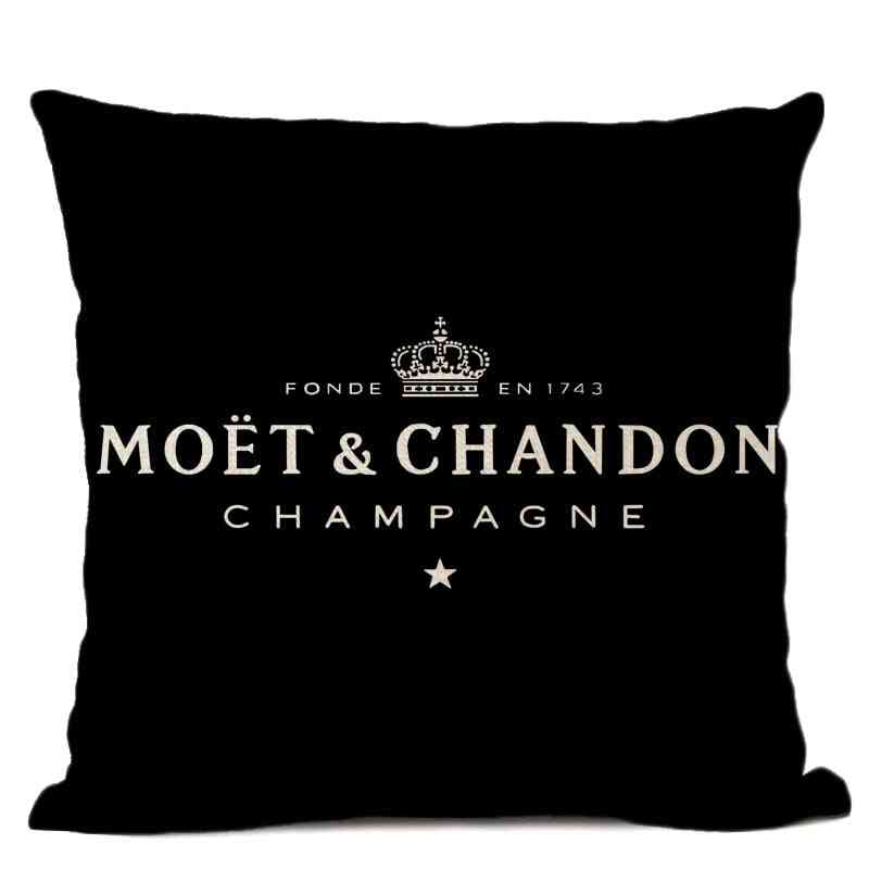 High Quality With Printed Text - Decorative Pillow Case
