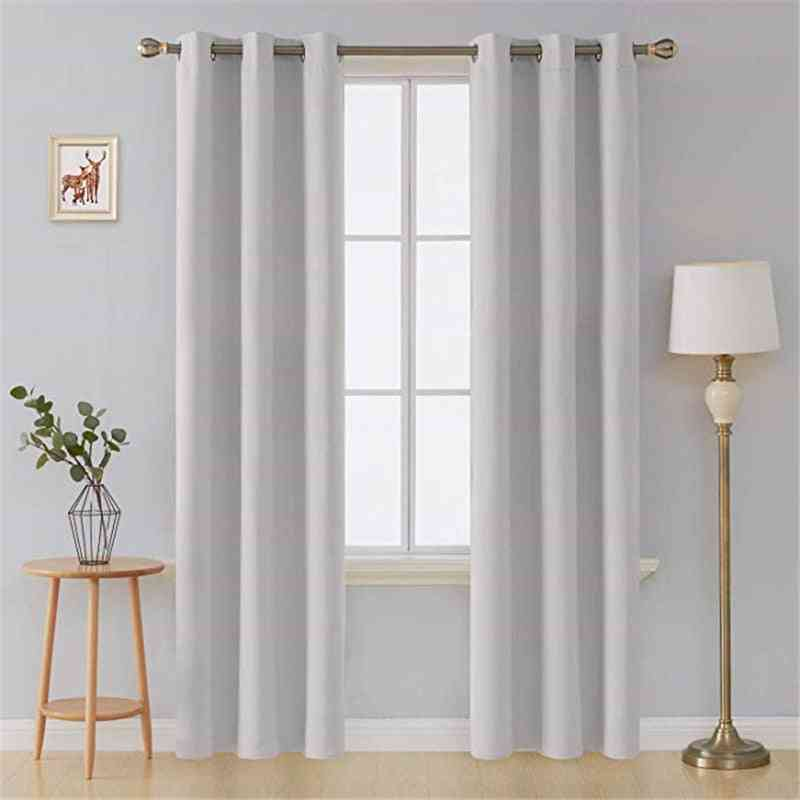 Thermal Insulated Blackout Curtains For Living Room, Bedroom