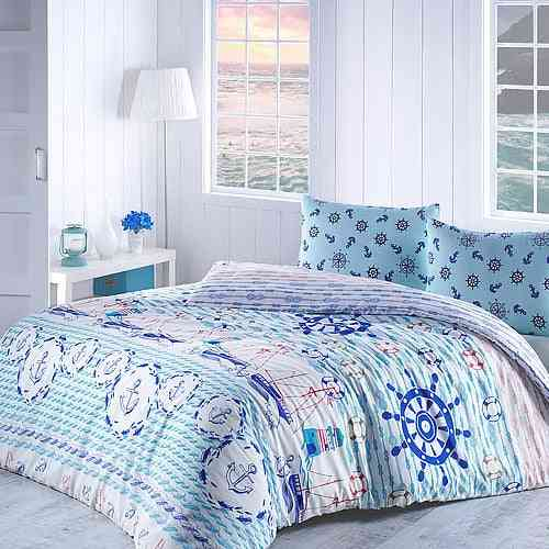 Europe Style Luxury Quality Printed Pattern Cotton Bedding Set