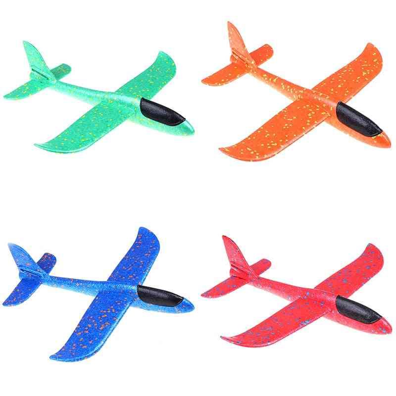 Epp Foam Hand Throw Airplane, Parachute Launch Glider
