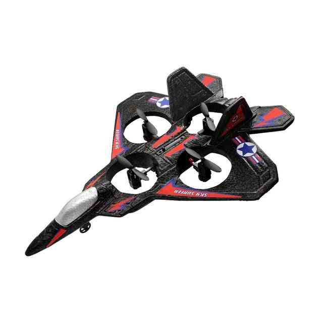 Rc Airplane Fixed Wing Drone Model Aircraft - Electric Rtf Epp Foam Phantom Remote Control Fighter Quadcopter
