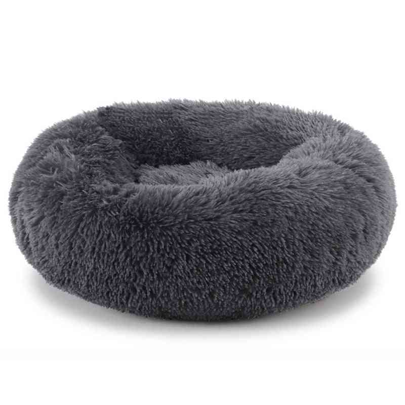 Warm, Round - Lounger Cushion For Pets