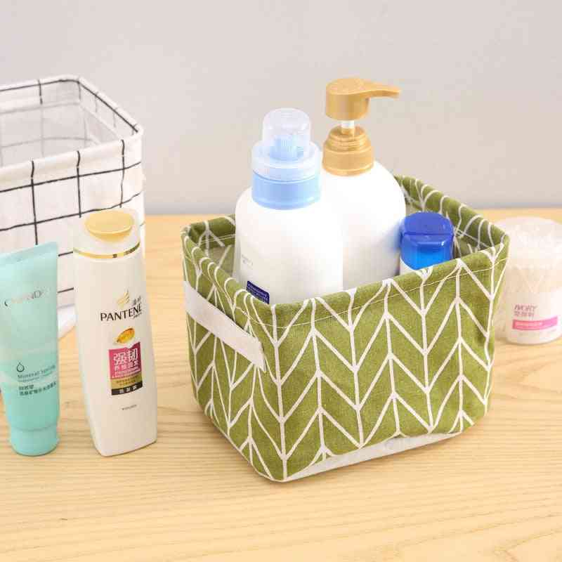 Storage Box - Desktop Sundries Cosmetic,  Book & Underwear Toy Stationery Container
