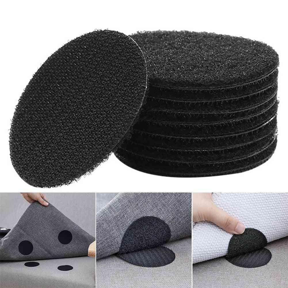 Anti Curling Carpet Tape Rug Gripper Velcro - Secure The Carpet, Sofa, And Sheets Multi-purpose Reusable Non-slip Stickers