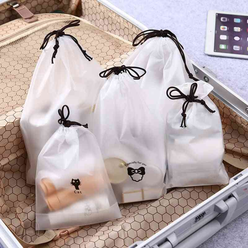 Waterproof Zipper Cosmetic Makeup Organizer - Storage, Beauty Kit For Travel