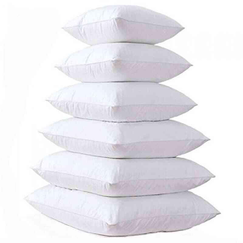 Inner Filling, Cotton-padded Pillow, Soft Cushion Core For Home Sofa, Car