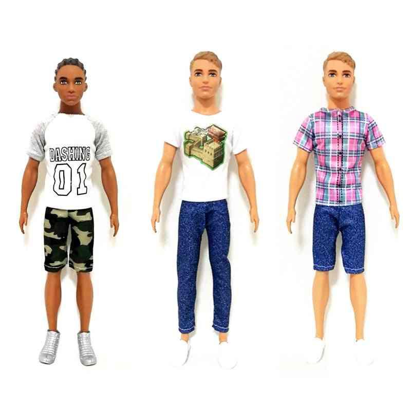 Handmade Clothes Set For Barbie Bjd Doll