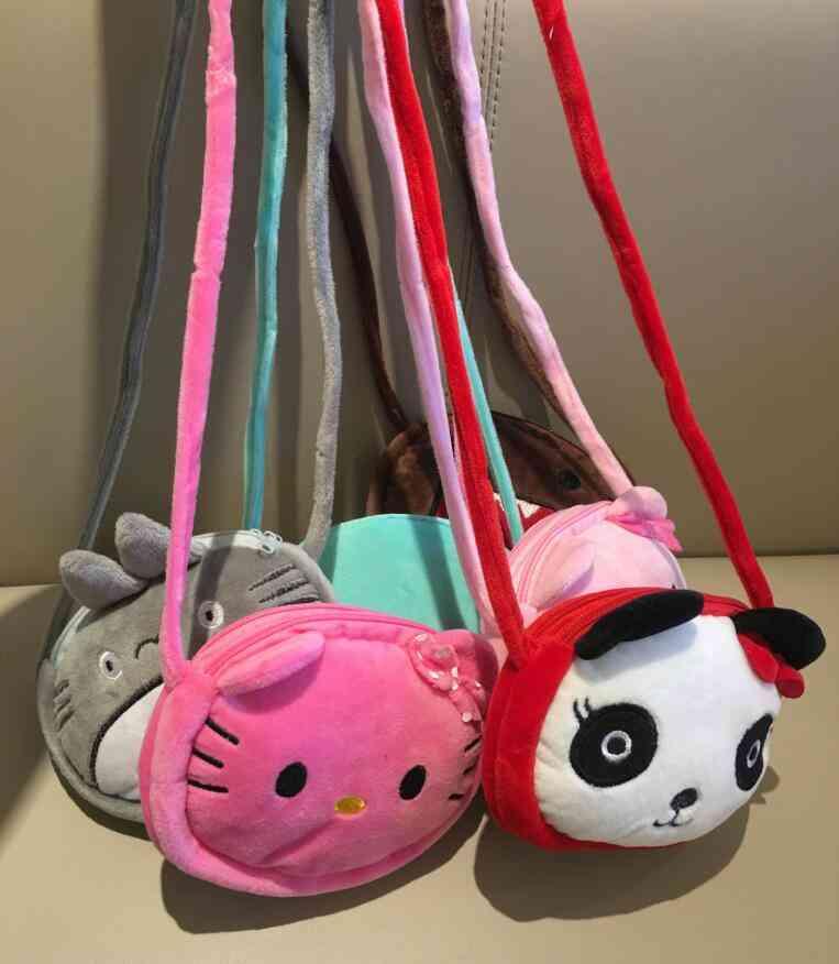 Baby Kid's Kindergarten Plush Satchel Messenger Bag - Plush Backpack