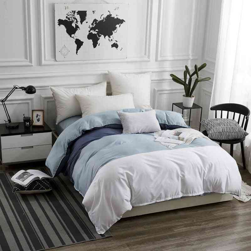 Soft Breathable Ab Version Double Sided Printing Duvet Cover