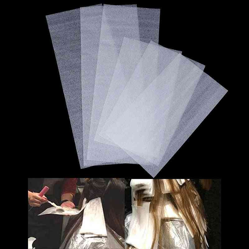 Hair Dye Paper Recycle-able, Separating Stain Dyeing Color Tool