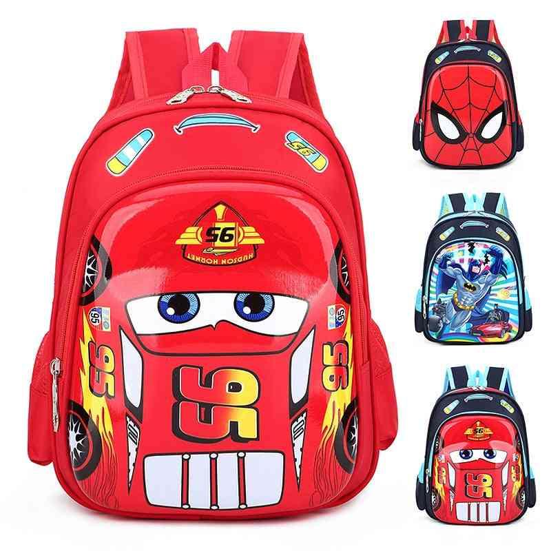 Disney Car Kid Cartoon Bag For School Children - Kindergarten Backpack Boy / Girl School Bag
