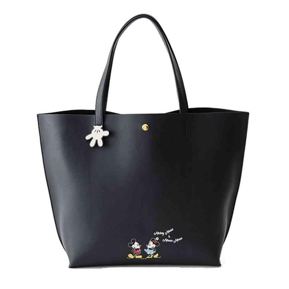 Disney Mickey/minnie Mouse Shoulder Bag - Large Capacity Bag Fashion Handbag