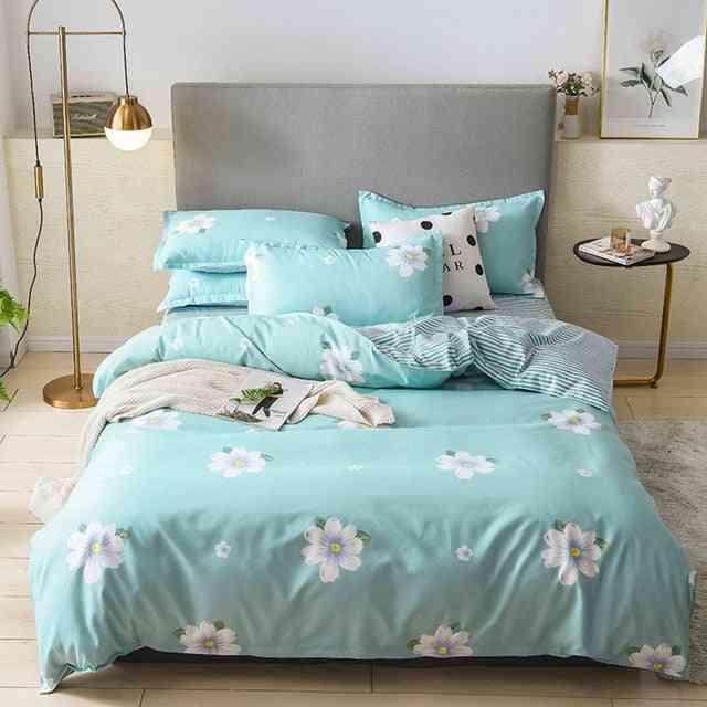 Stylish Comfortable Nordic Printing Bedding Set