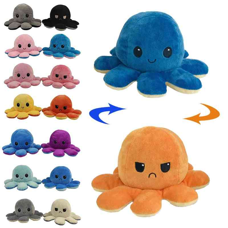 Pillow Stuffed Toy - Soft Simulation Octopus Plush Dolls For Cute Decoration