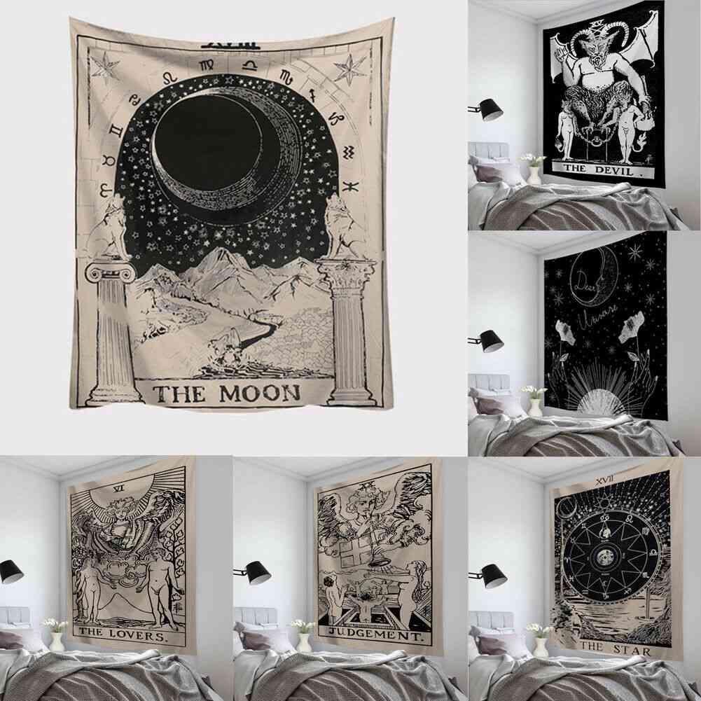 Ramadan Kareem, Astrology Divination And Tarot Card Tapestry Wall Hanging