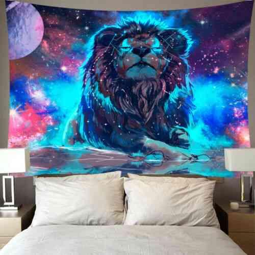 Jacquard Style Sun, Moon, Tarot And Mandala Wall Hanging Tapestry