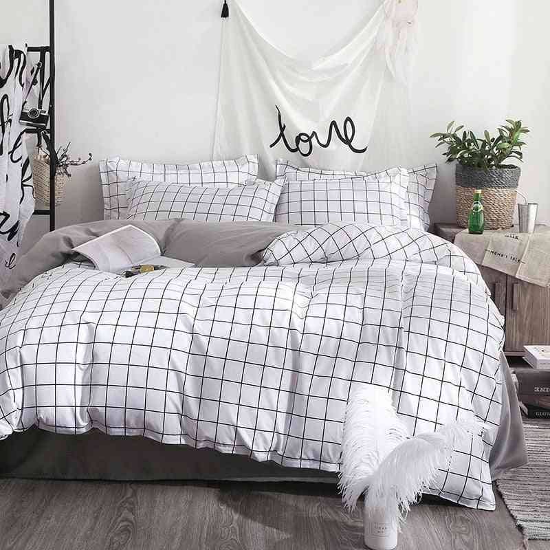 Home Decoration Polyester Printed Bedding Set
