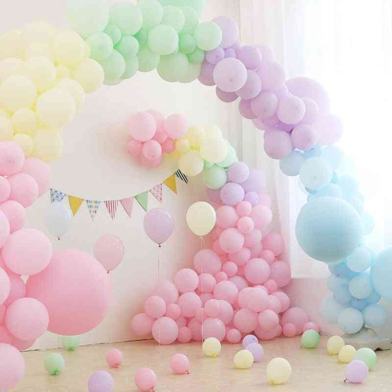Pastel Party Latex Macaron Balloon For Party Decoration