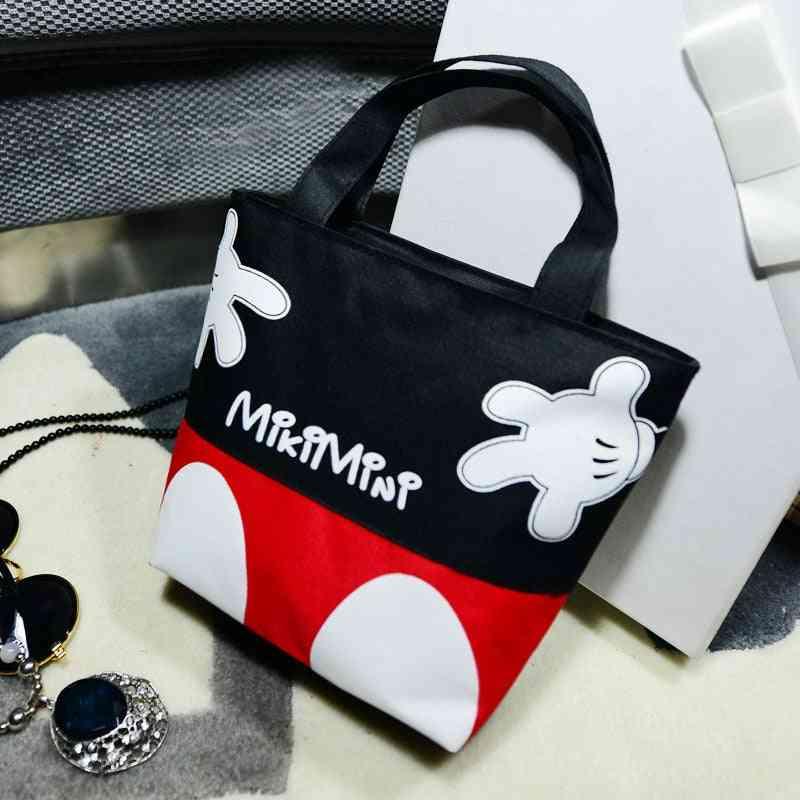 Portable For Casual Use  - Canvas Handbags