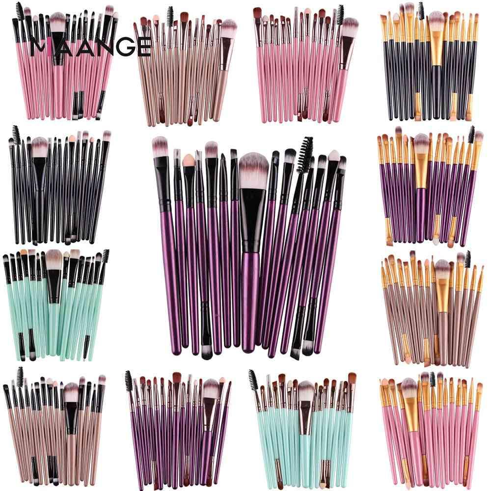 Eye Shadow Foundation Powder Eyeliner, Lip Make Up Brush Cosmetic Beauty Tool