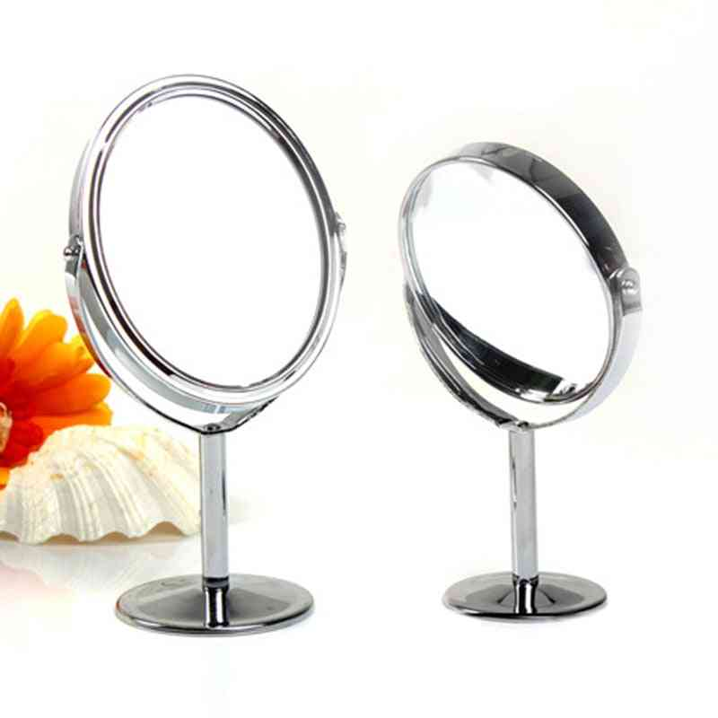 Double Sided-cosmetic Mirrors With Stand