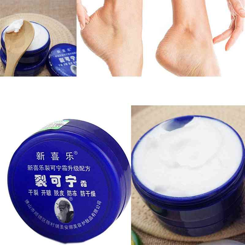 Traditional Chinese Cosmetics Heel Foot Massage Cream, Dry Chapped