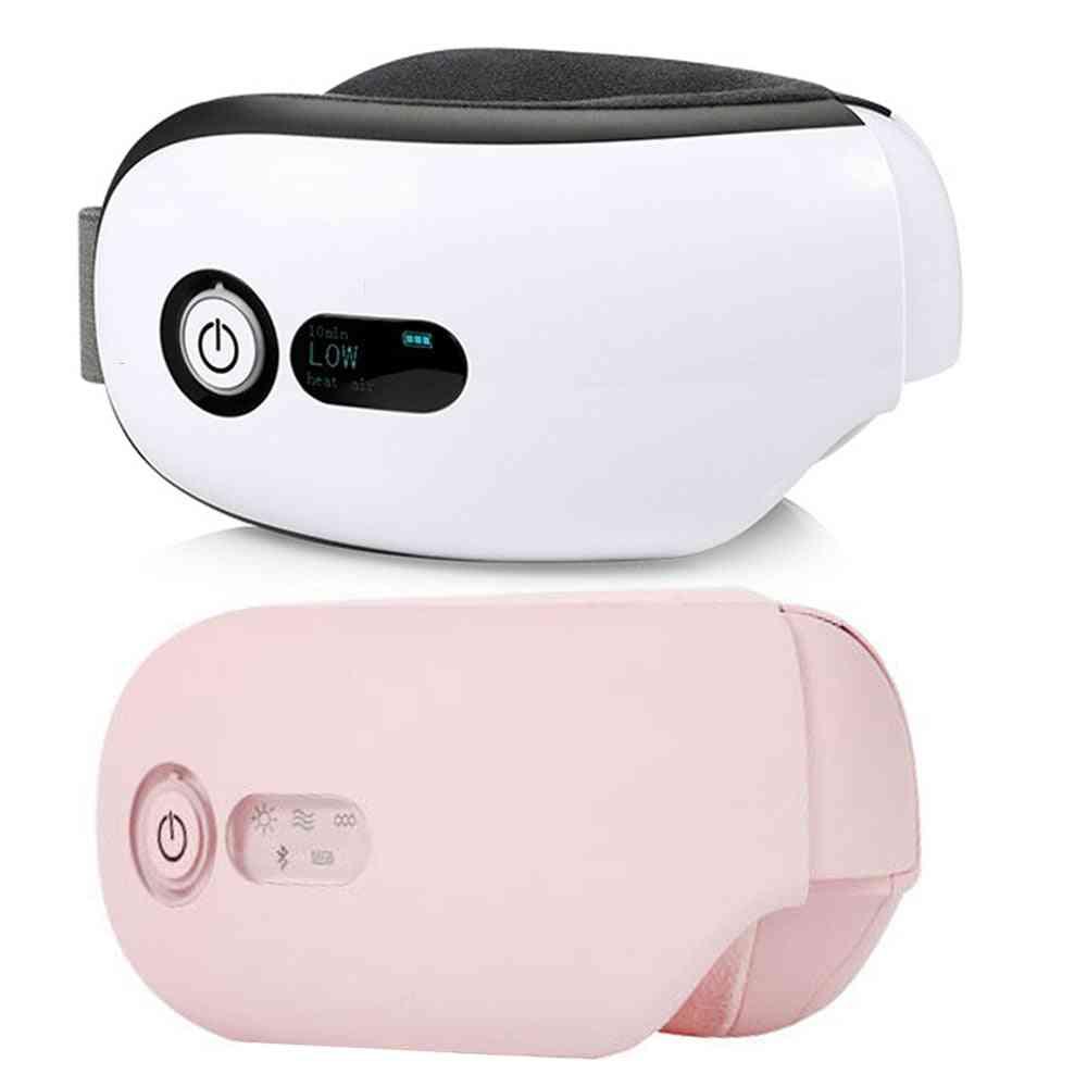 Bluetooth Smart Vibration - Eye Care Device , Glasses Instrument Misic , Foldable Eye Protection Massager