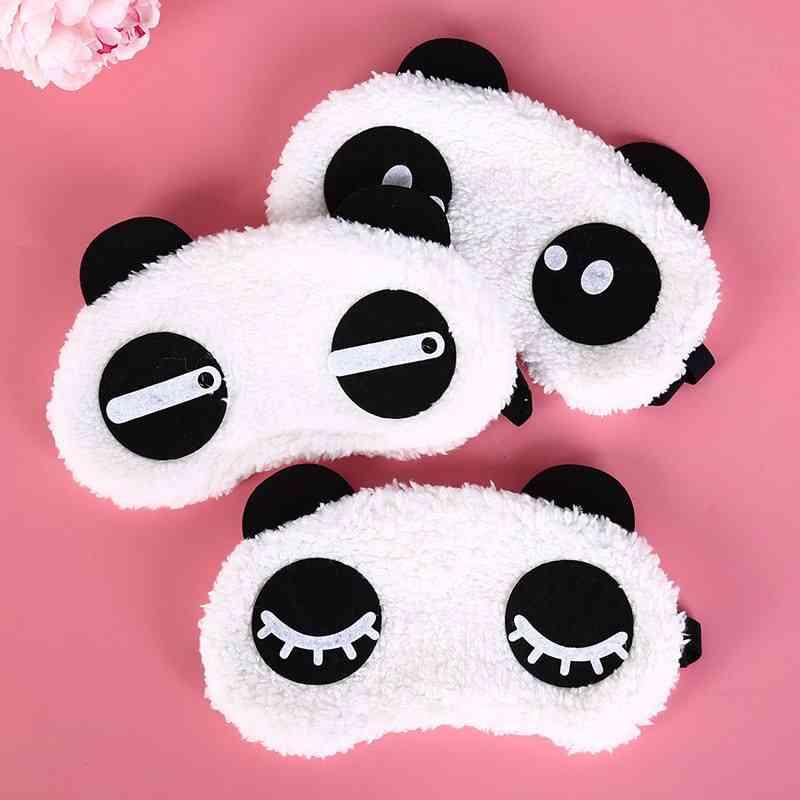Cute Face Panda Eye Mask Cover