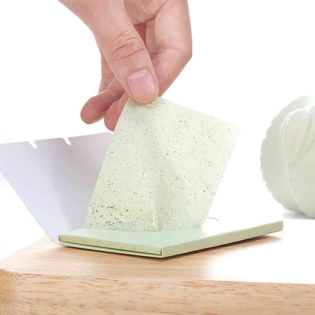 Face Oil Absorbing Paper - Fibers Breathable Tissue