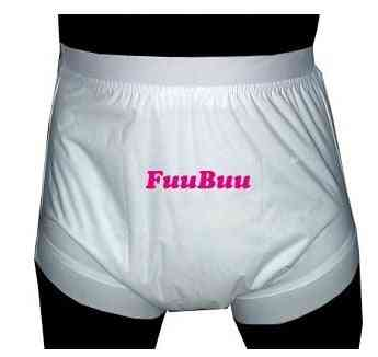 White S Wide Elastic Pants/adult Diaper/incontinence Pants /pocket Diapers For Adults