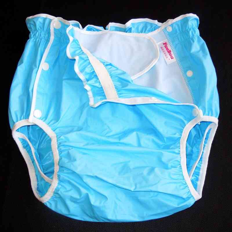 Blue L 1pcs Die Shorts/the Adult Man Diapers/waterproof Shorts