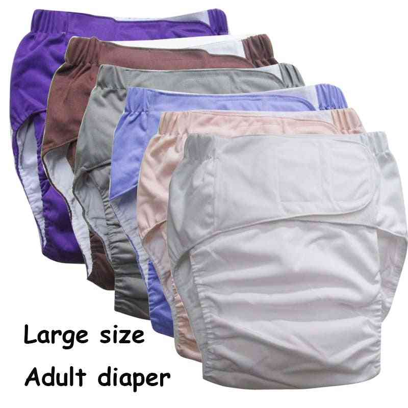 Reusable Adult Diaper For Old People And Disabled - Super Large Size , Adjustable Tpu Coat , Waterproof Incontinence Pants