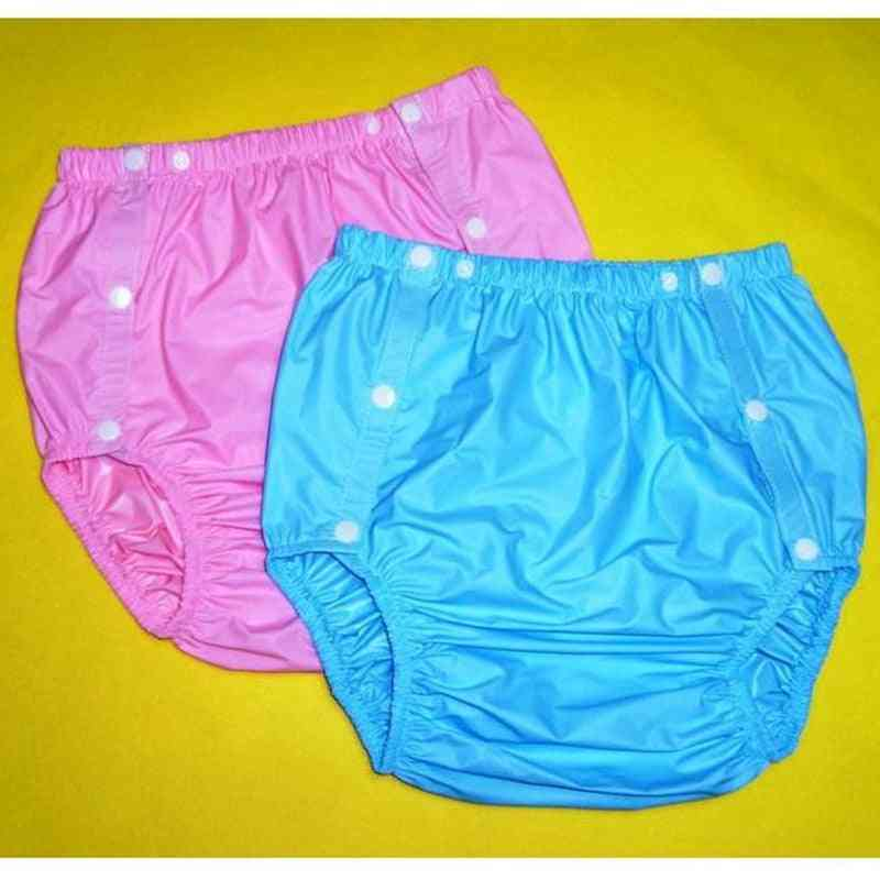 2pcs Adult , Non Disposable , Incontinence Pants Diapers For Adults