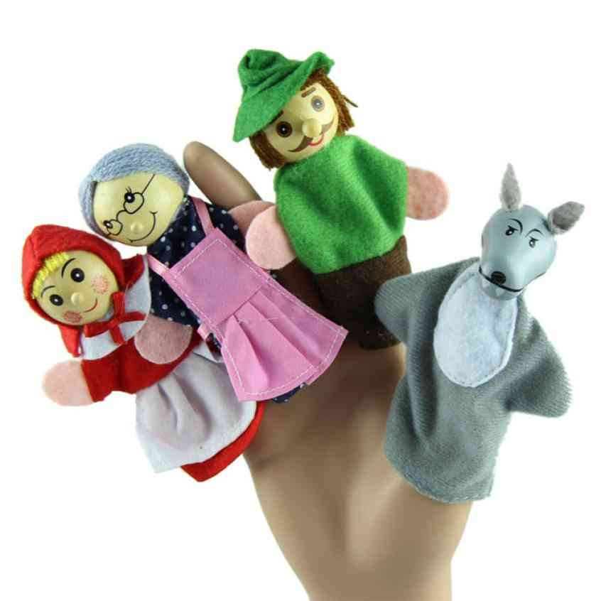 Finger Puppets - Educational Toy For Baby
