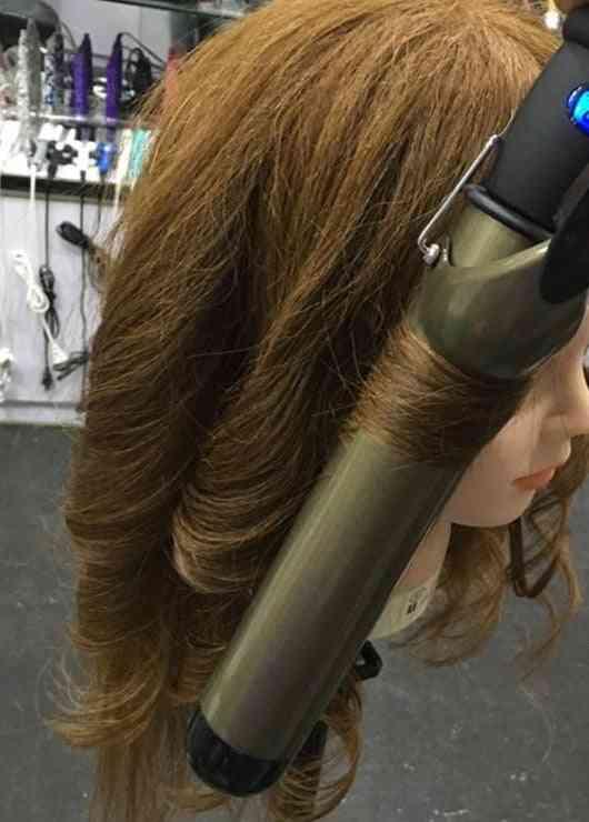 Lcd Ceramic Hair Curler