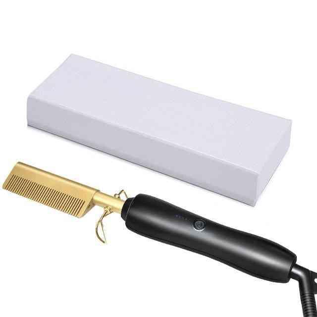Hair Flat Irons Straightening Brush
