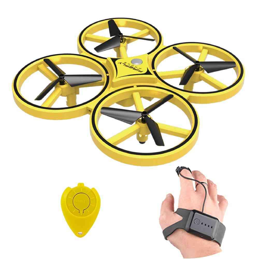 Mini Infrared, Uav Hand Control Drone For Kids