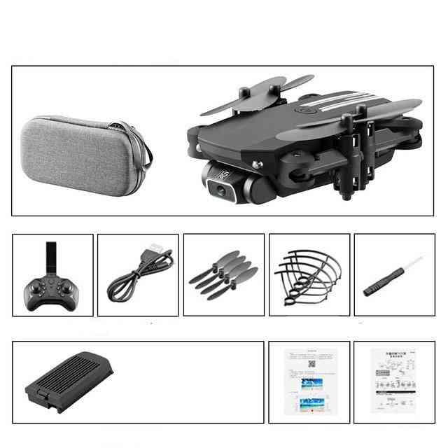 Mini Remote Control Drone With Camera And Foldable Arms