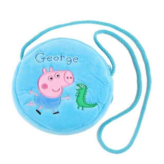 Peppa Pig George Cartoon Plush Backpack - Dolls