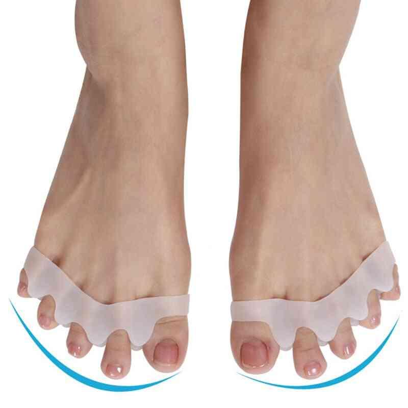 Toe Separators, Straightener, Corrector For Bunion Relief - Foot Care Tool
