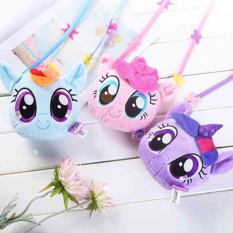 Pony Bao Li Children's Purse - Plush Backpack Cartoon , Cute Doll Cross Body Bag For