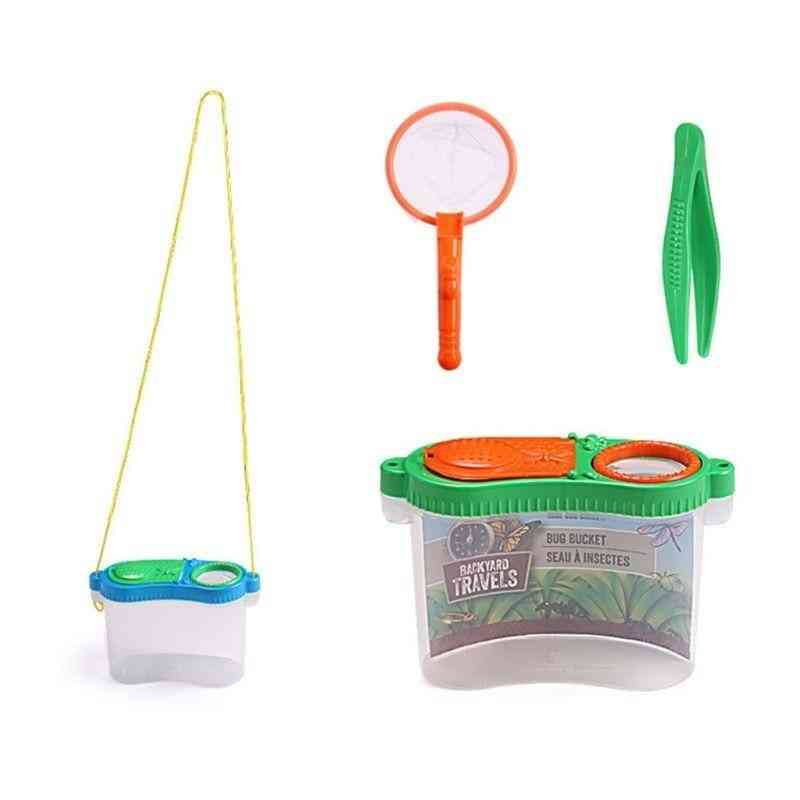 Portable Insect Observer Child Magnifier Toy - Observation Box Outdoor Experiment Exploration Equipment Supplies
