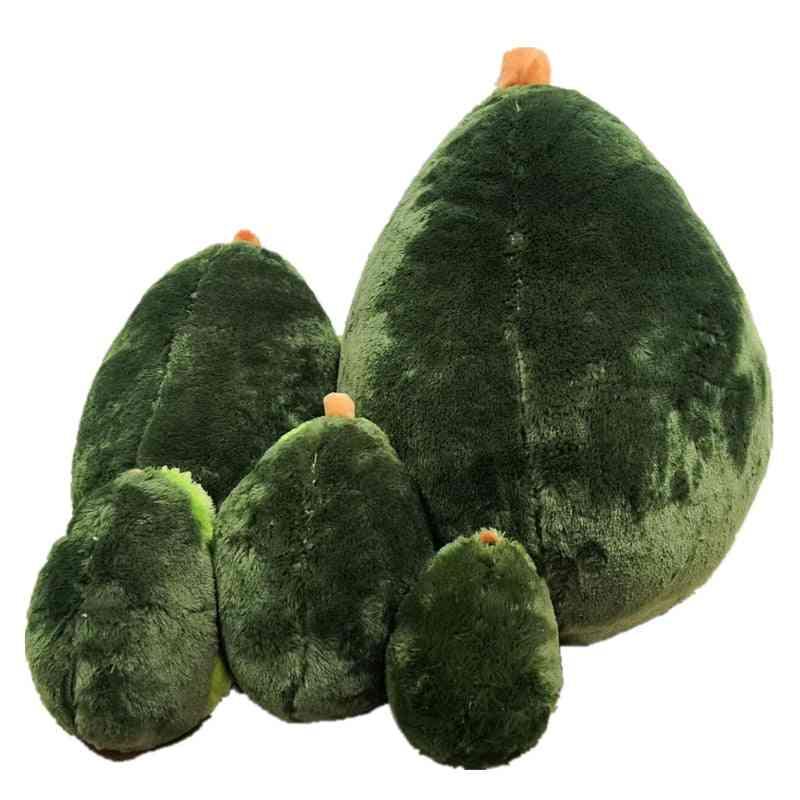 Avocado Fruits Cute Plush, Stuffed Dolls Cushion Pillow, Christmas Baby