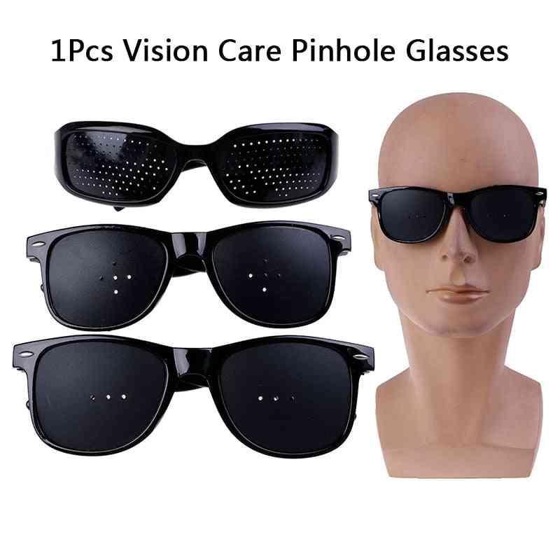 Eyesight Improvement, Vision Care Pin Hole Eyeglasses -natural Healing Glasses For Eye Exercise