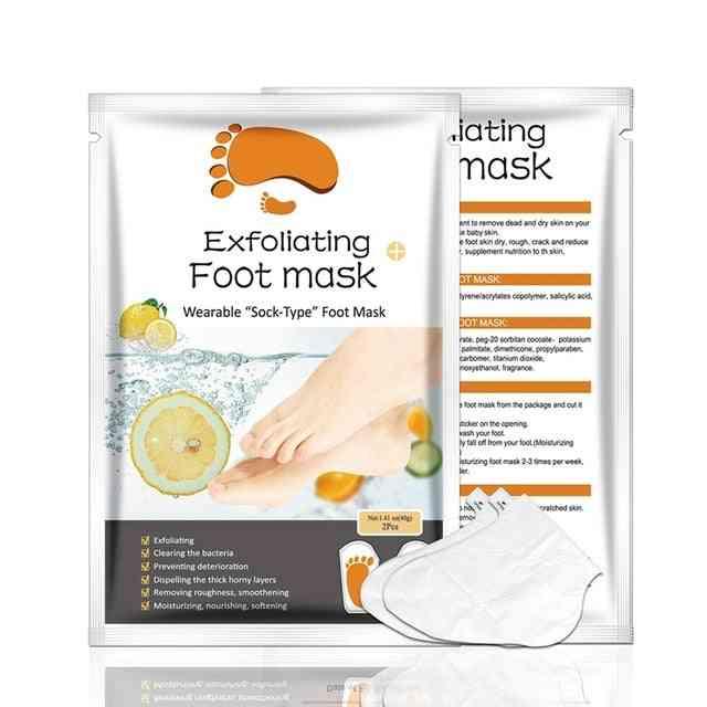 Foot Mask Socks For Pedicure - Feet Peeling Health Care